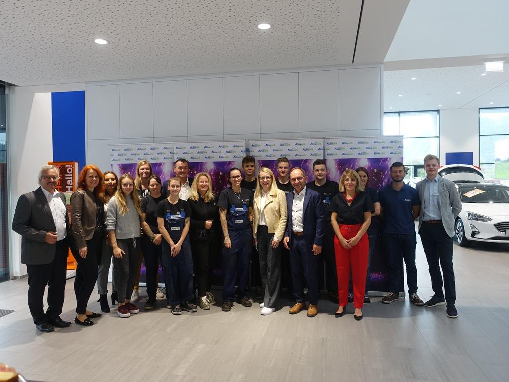 Prominenter Besuch im Autopark Telfs Pfaffenhofen (27.9.2019